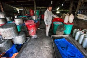 Reiswein Produktion